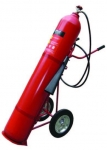 25Kg & 45Kg CO2 Trolley Fire Extinguishers