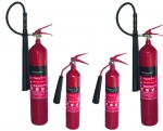 2Kg, 5Kg & 7Kg CO2 Portable Fire Extinguishers